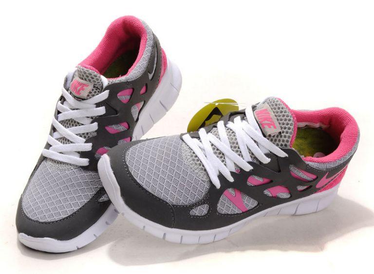 Nike Free Run Grise Femme