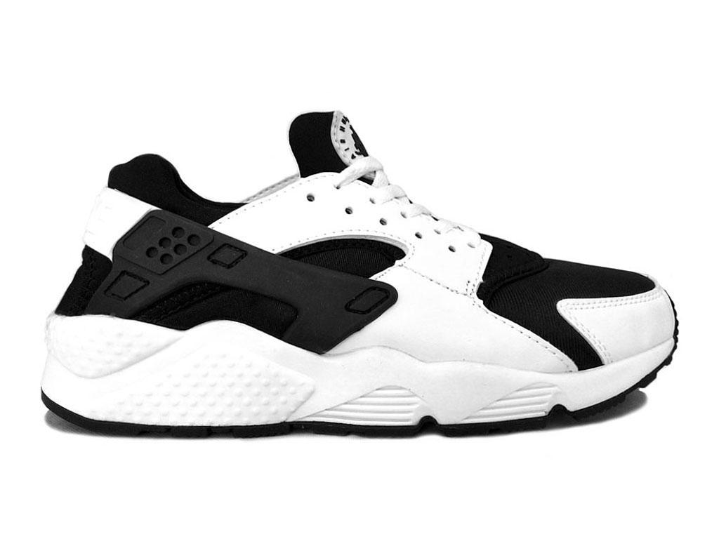 Nike Huarache Noir Et Blanc Femme