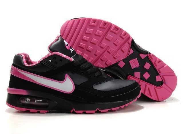 sale retailer 22ab5 96768 nike air max bw femme chaussures noir rose