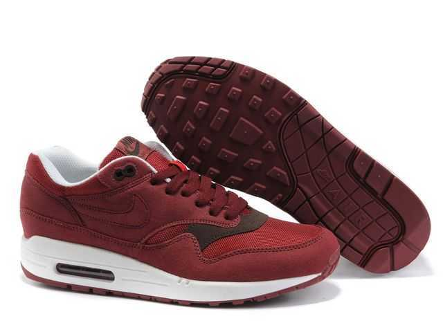 newest 9db9c 0a4e8 ... Nike Air Max 1 Chaussure Pour Homme Rouge