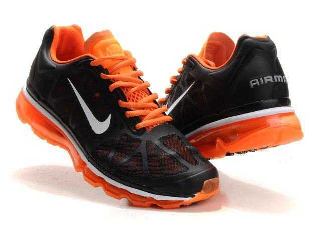 Nike Noir Et Orange