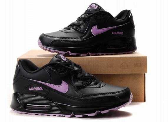 Air Max 90 pour Femme noir violet