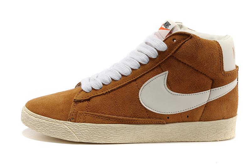 Nike Blazer Mid Beige Homme