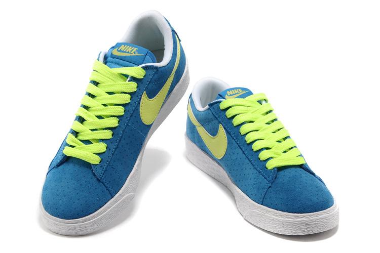 Nike Blazer Fur Bleu