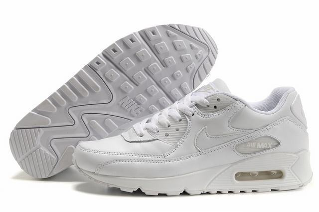 nike air max 90 baskets blanche