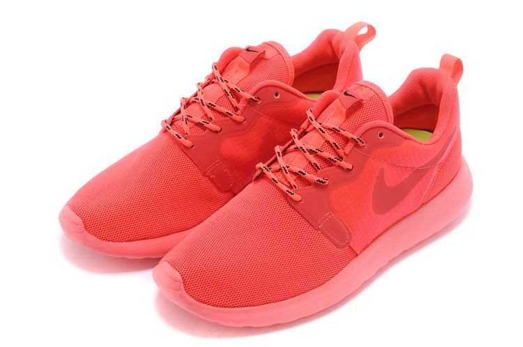 roshe run rose et blanc