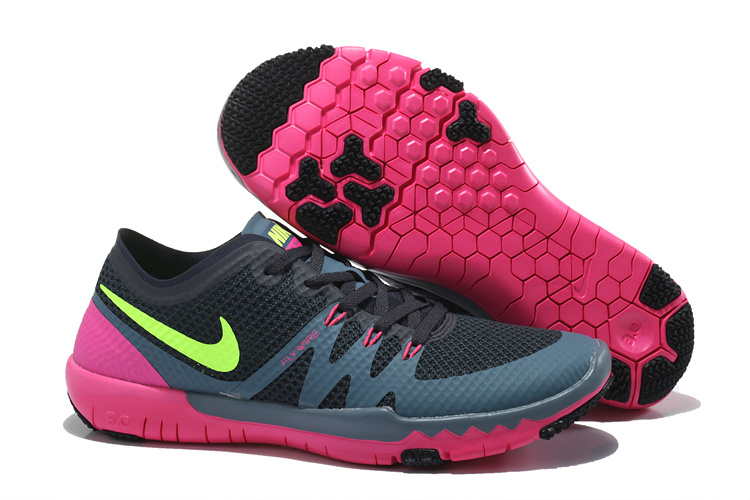 Nike Free Run 5.0 Rose Et Noir
